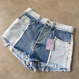 NWT Carmar LF Patchwork Shorts